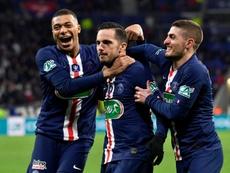 Pablo Sarabia a marqué deux buts contre Le Havre. AFP