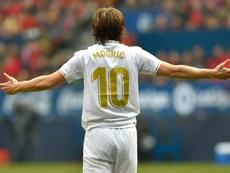 Modric no dará problemas al Madrid. AFP