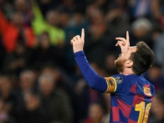 Trippier elogió a Leo Messi. AFP