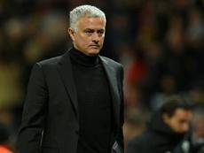 Mourinho remains under pressure at Old Trafford. AFP