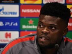 Thomas estrenó titularidad con el Arsenal. AFP