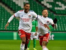 Le doublé de Marcelo contre Saint-Etienne. AFP