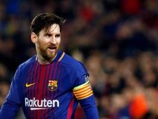 Aimar elogiou o seu compatriota Messi. EFE