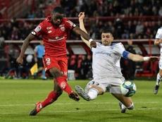 El partido entre el Dijon y el Nimes no se jugará. AFP