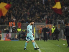 Barca lost to Roma. AFP