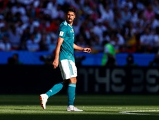 Khedira está a punto de abandonar la Juventus. AFP