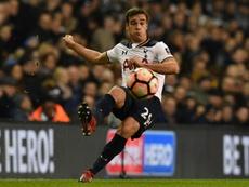 Winks pode abandonar o Tottenham ainda em janeiro. AFP