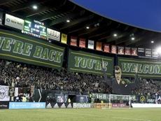 Portland Timbers gana el regreso de la MLS. AFP/Archivo