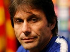 Conte apostará por la figura del doble nueve. AFP
