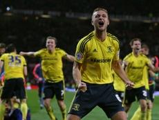 Gibson devrait quitter Boro pour Burnley. AFP