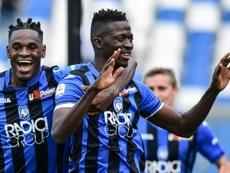 L'Atalanta a l'autorisation de jouer la Ligue des Champions à San Siro. AFP