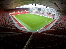 Tirana acogerá la primera final de la Conference League. AFP