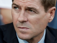 Gerrard's side were unable to find a way through against Spartak. AFP