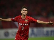 Oscar jugaría con la Selección de China. AFP