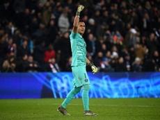 Navas has never lost a Champions League knockout tie. AFP
