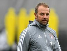 Flick solo tiene ojos para el Bayern, por el momento. AFP