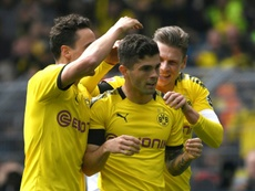 El Borussia se jugará la Bundesliga en la última jornada. AFP