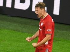 Kimmich, otra duda más para el Bayern-Atlético. AFP