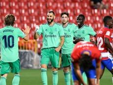 Le Real Madrid à une victoire du titre. AFP