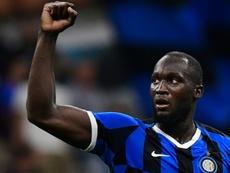 Lukaku pede união de jogadores contra racismo e Cagliari pede desculpa. AFP