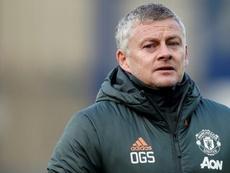 Solskjaer lamentó no haber sustituido a Fred. AFP