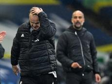 Guardiola elogió a Bielsa. AFP