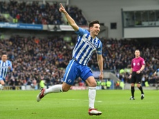 Dunk has been excellent at the back for Brighton this season. AFP
