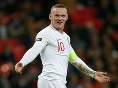 From January, Rooney will play with Derby County. AFP
