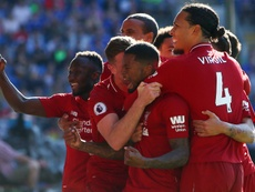 Liverpool defeated Huddersfield's fellow strugglers Cardiff last time out. AFP