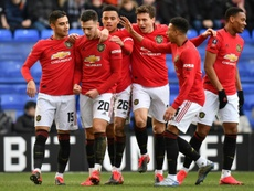 Man United cruise to the FA Cup fifth round after thrashing Tranmere Rovers. AFP