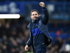 Lampard explique le mercato de Chelsea. AFP
