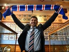 El nuevo técnico del Rangers sigue con su racha triunfante. AFP