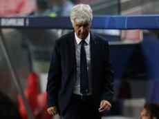 L'entraîneur de l'Atalanta s'imaginait déjà en 1/2. AFP