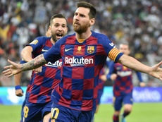 Barcelona está nas quartas de final. AFP
