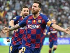 Massimo Moratti sueña con conseguir a Messi. AFP