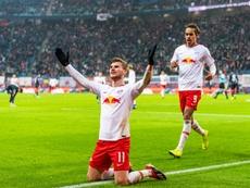 O clube alemão falou sobre o futuro de Werner. AFP