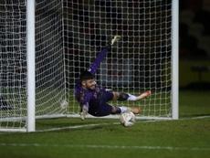 El gol de portería a portería fue ¡récord Guinness! AFP