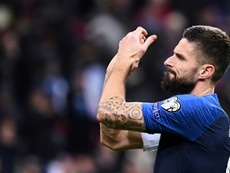 Giroud may not be able to go to Inter after all. AFP