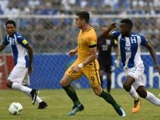 Johnny Palacios dio positivo en una prueba antidopaje. AFP