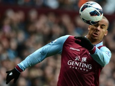 Agbonlahor offered to play for no salary. AFP
