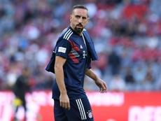 Ribéry devrait quitter le Bayern. AFP