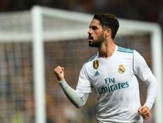 Isco veut quitter le Real Madrid cet hiver. afp