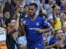 Se enfría la 'opción Hazard' para el Madrid. AFP