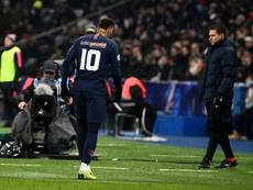 Neymar relató lo mal que se lo han hecho pasar las lesiones. AFP