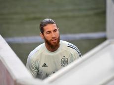 Plus de peur que de mal pour Sergio Ramos. AFP