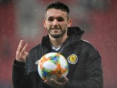 El Aston Villa se cierra en banda con McGinn. AFP