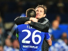 The Lampard-Terry duo was a viable option. AFP/Archivo