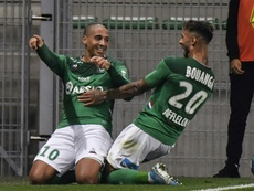 Khazri a retrouvé le chemin des buts contre Amiens. AFP
