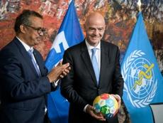 La CONMEBOL pidió ayuda a la FIFA. AFP