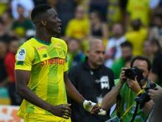 Les compos officielles du match de Ligue 1 entre Strasbourg et Nantes. AFP